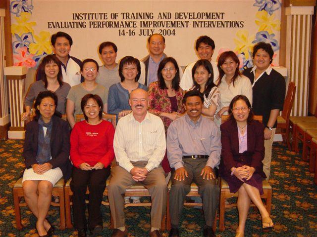 Dr. Ford teaching HPI Basics class in Kota Kinabalu, Borneo.